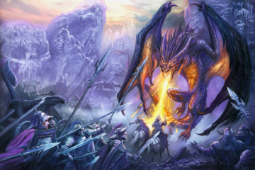 Attack At The Gorge Maxi Poster. Fantasy Art